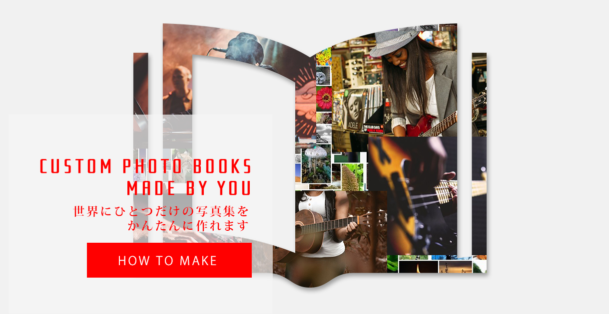 custom photo books made by you